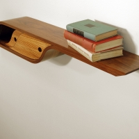 Shane Staley Curved Wall Shelf 1