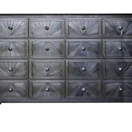 Sixteen Drawer Starburst Counter