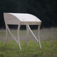 Leviathan, tambour desk, 2013