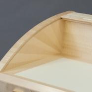 Leviathan, tambour desk, detail