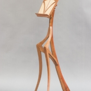 Fiddler Mantis, music stand