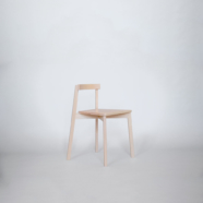 maple chair and desk