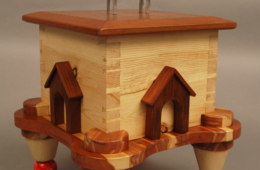 Greyhoundstooth Dovetail Box