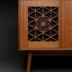 Kumiko media cabinet detail - Stephen Thrasher