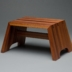 Sapele step stool - Stephen Thrasher